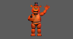 Toy Freddy Port To C4D Download by Bananaexprex2