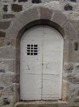 WHITE DOOR'S BARS IN AN ARC by isabelle13280