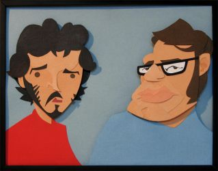 The Conchords by WonderDookie