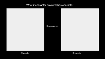 What if Character brainwashes Character meme by AquaGemPrincess