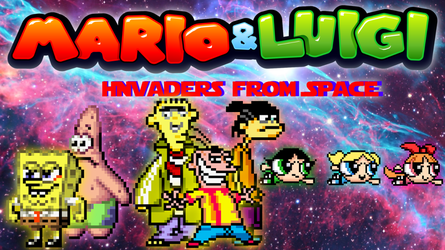 Mario and Luigi Invaders from Space (Part 4) by SuperShadeMario