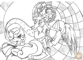 Between Chaos and Songbirds by ValkyrieSkies