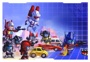 SD Transformers - One shall stand by geeshin