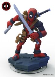 Infinity Deadpool by HecM