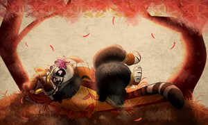 KFP Day 5 - Mama Tigress by Wolf-Chalk