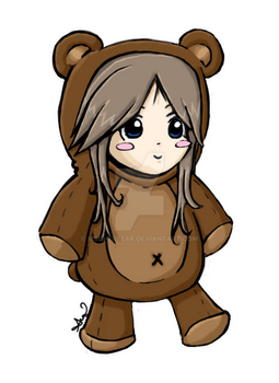 Audi: -collab- Chibi CherBear by mscherbear
