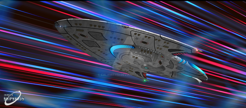 U.S.S. Avalon in Slipstream by calamitySi