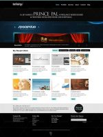 Infinity Wordpress Template by princepal