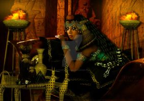 Cleopatra by babsartcreations