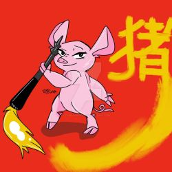 Year of the Pig by TigerofHyrule