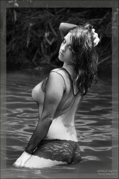 Tiffany Blackand White by AngelicBeingsPhoto
