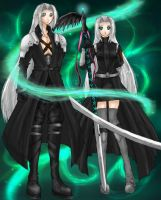 Sephiroth and... by Sessie