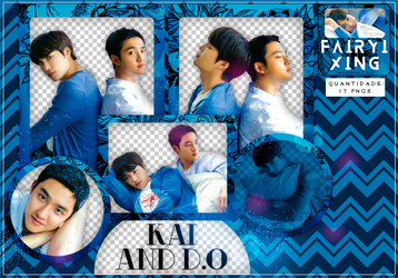 [PNG PACK #774] KaiSoo - EXO (EXO-L JAPAN 8) by fairyixing