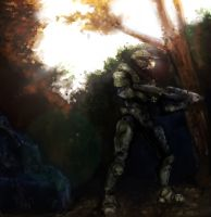 Master Chief: Evasion by Leucove