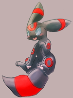 Red-color umbreon by Kspmill