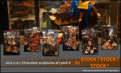 2014.11.01 | Chocolate sculptures art pack II by Stock-Stock-Stock
