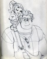 Wreck-it Ralph Fanart and 5 Reasons to see it! by Ray-Of-Hope