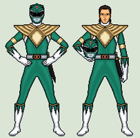 Green Ranger - Mighty Morphin Power Rangers by vandersonmetal