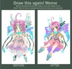 Meme: Before and After by UnnameNeko