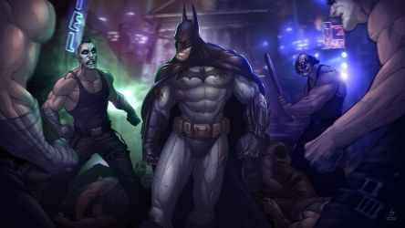 Batman: Arkham City by PatrickBrown