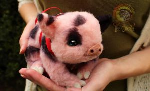 Sold, Poseable Baby Teacup Pig! by Wood-Splitter-Lee