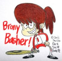Brony Basher Lynn Loud!!! by komi114