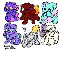 KD adoptables FREE [CLOSED] by ghoststrings