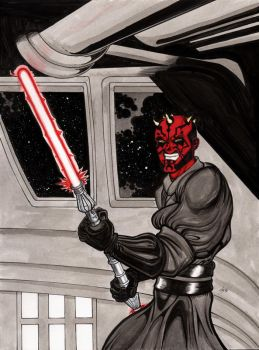 Darth Maul by The-Standard