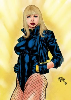 Black Canary by PsychedelicHeroin