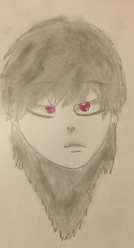 First Time Drawing Anime by GameyGemi