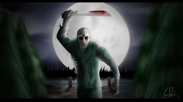 Friday The 13th Part 7 Jason Voorhees (Speedpaint) by ThePsychoticEnigma