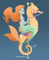 Mermaid Carousel #1
