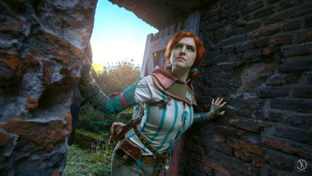 Triss Merigold, a sorceress of Maribor! by MsSkunk