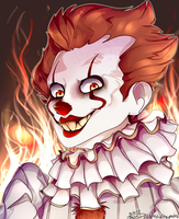 `We All Float Down Here` by ArtistoftheGeeks