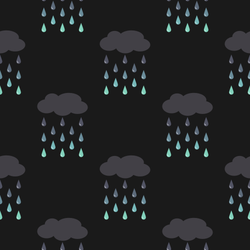 Raindrops Keep Fallin' On My Head - Free Tiled BG by pbcpony