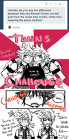 The twins challenge by moenitas