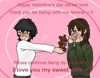 Happy Valentine's day :D gift for my bby by Skatland