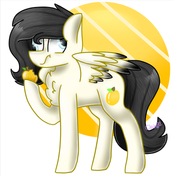 Golden Delicious (OC) by ClaireDaArtiste444
