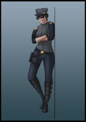 Original Character Concept - Pilot by Saza-Productions