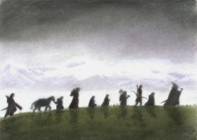 The Fellowship of the Ring by AinuLaire