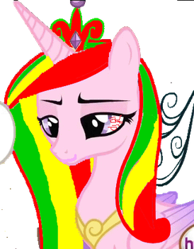 Rasta Cadance (Done in around 10 minutes) WIP? by MyLittleWuTangClan
