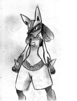 Lucario by theREDspy