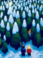 A Little Winter Magic by jasinski