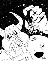 Unicron Sketch by BillForster