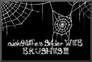 Spider Web Brushes by ajsk84life