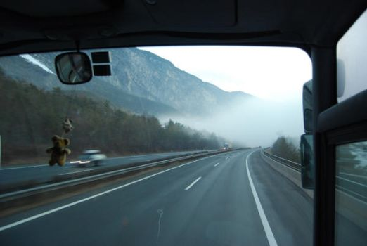 from the bus by Anestezia