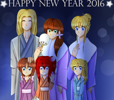 Happy New Year 2016 - Anzu Story by YukirinSims