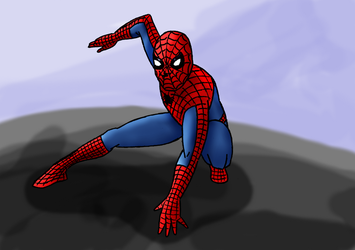 Spidey by ravensbrugger