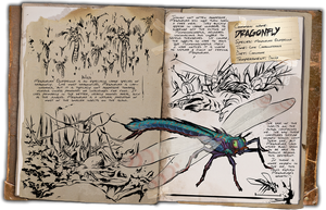 Ark: Survival Evolved Dossiers: Dragonfly by Dinosuarjosh