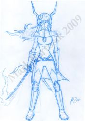 Orig. Character Rough Concept by animemagix